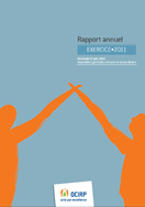 Couverture Rapport annuel 2012 - Exercice 2011