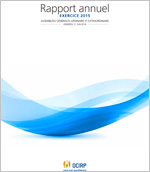 Couverture Rapport annuel OCIRP 2016 exercice 2015